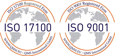 Iso 17100 Registered Firm